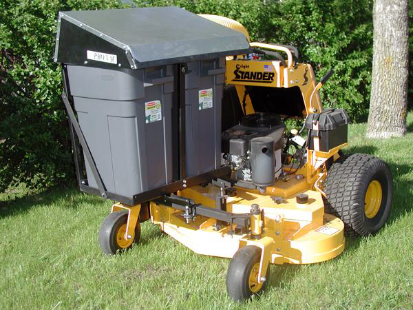 Stand On Lawn Mower Catchers - Custom Built Leaf Vac