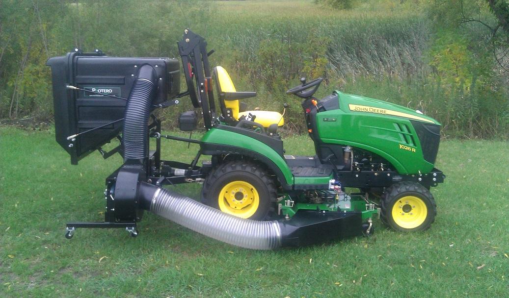 Pv18 Pto Dump Catcher Utility Tractors